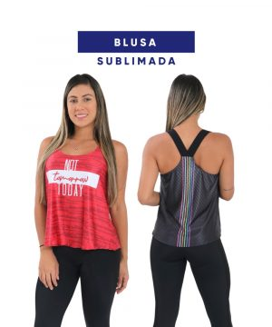 Blusa Sublimada
