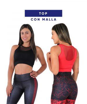 Top con Malla