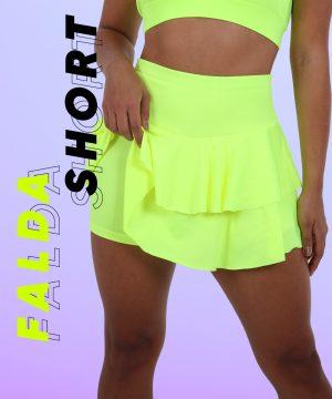 Falda Short con boleritos